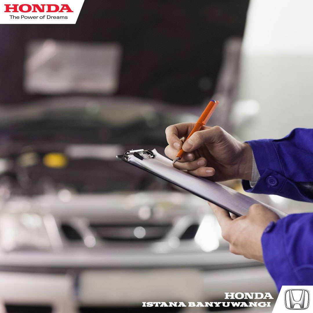 Perawatan Berkala Mobil Honda
