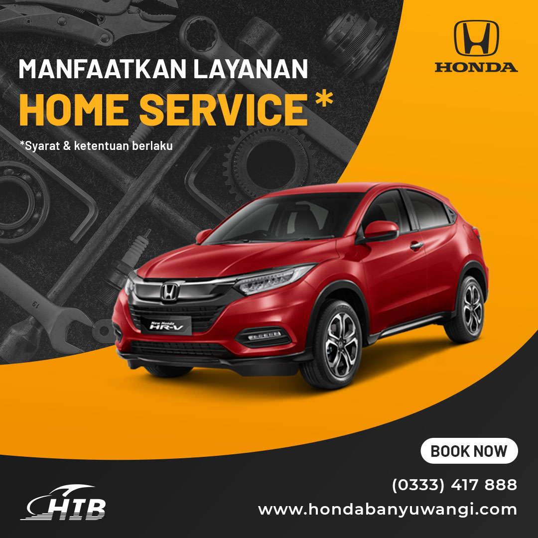 Manfaatkan Layanan Home Service