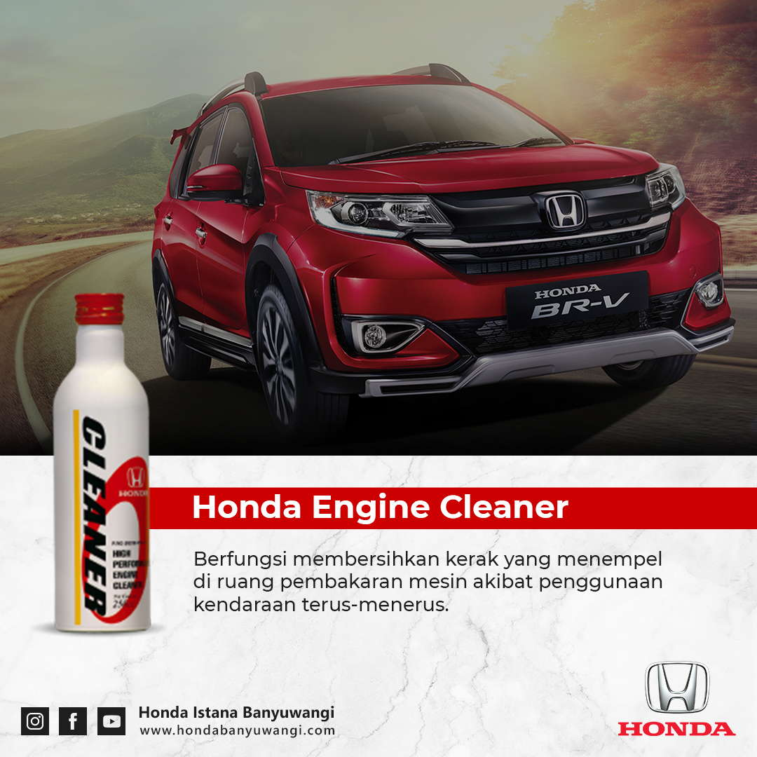 Manfaat Honda Engine Cleaner