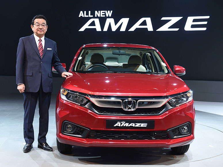 Honda Amaze diperkenalkan pada Auto Expo 2018