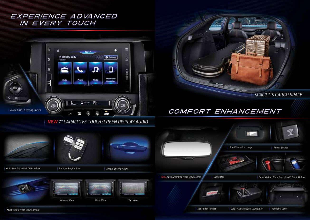 Fitur Honda Civic Hatchback
