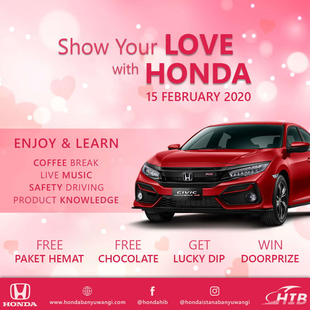 Show Your Love With Honda