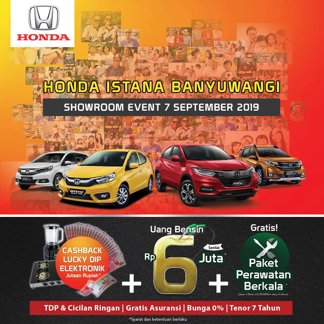 Showroom Event Honda Istana Banyuwangi 7 September 2019